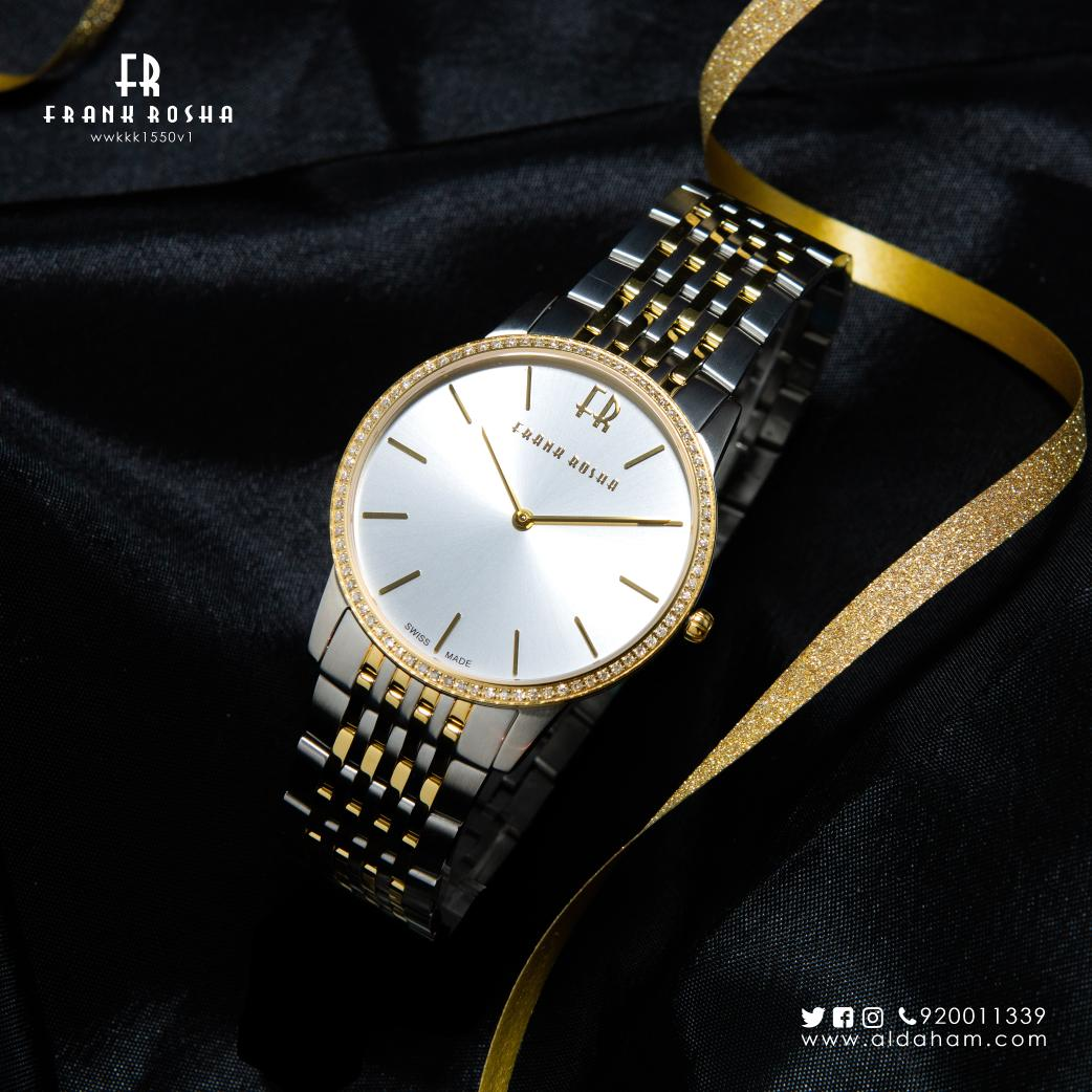 6b11db3a77bab Frank Rosha men s watch is the epitome of beauty and confidence that  glamour elegantly around your wrist.  الدهام  فرانك روشا pic.twitter .com iT7HabSwE7