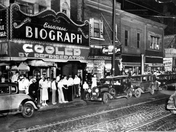 Image result for john dillinger biograph theater