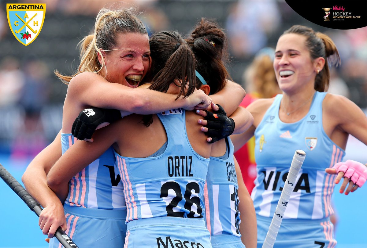 Hockey Femenino | Las Leonas vapulearon a España 6 a 2 en Londres