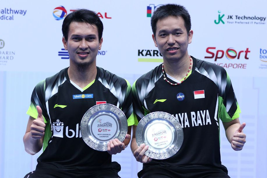 Hot Daddies Hendra/Ahsan Pasangan Lagi, Juara Lagi https://t.co/JoWFAU0wXF via @detiksport https://t.co/wfd5CRoYiC