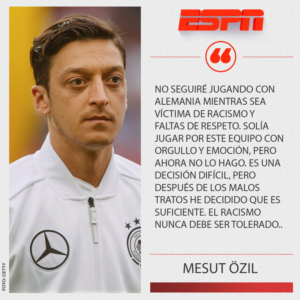 ESPN.com.mx's photo on Ozil