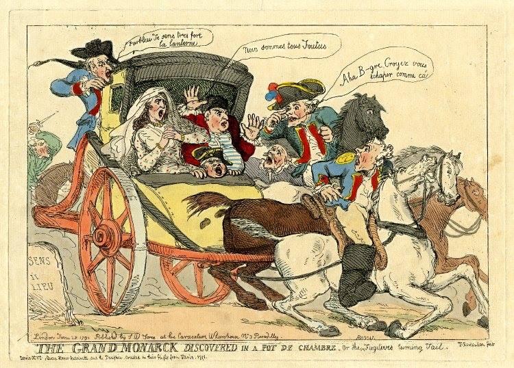 """maldon on Twitter: """"Toujours sans nouvelles des Macrons... En fuite à  Montmédy ? (Episode de la Révolution française, au cours duquel Louis XVI &  Marie-Antoinette tentèrent de rejoindre le bastion royaliste de"""