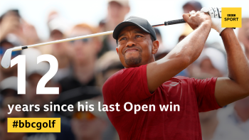 We have an outright leader...  Xander Schauffele drops two shots and Tiger Woods is top of the leaderboard on -7.  Live @5liveSport ⛳👉 https://t.co/DVIGPELv9D #bbcgolf