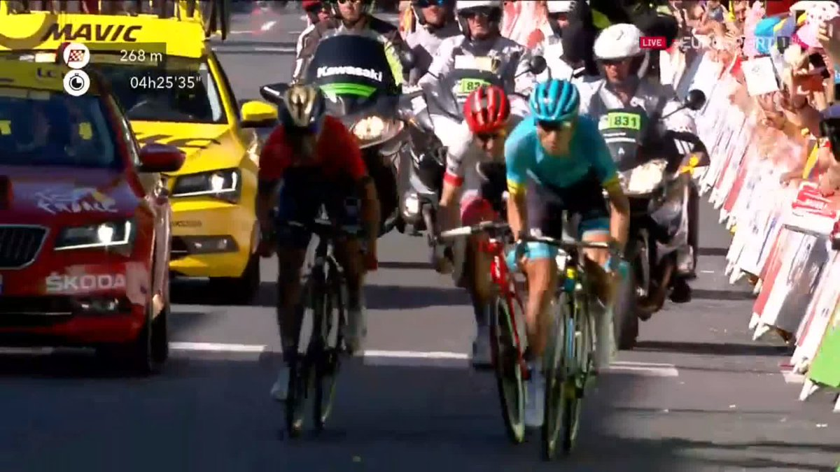 Tour de France 2018 etappe 15: Magnus Cort Nielsen wint