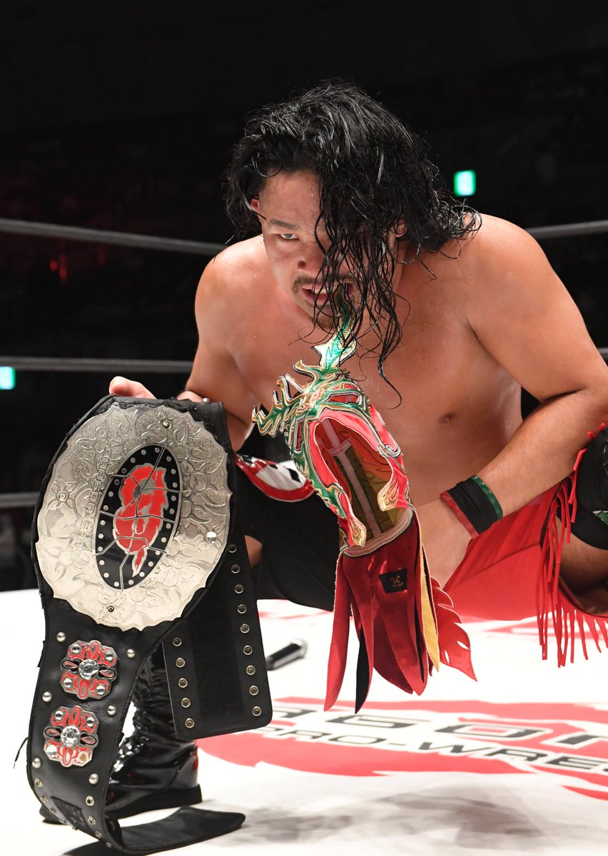 "Dragon Gate:""Kobe PW Festival"" Masato Yoshino defiende su cinturón 3"