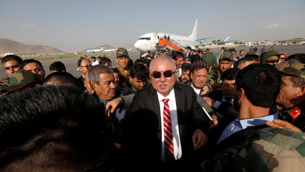 Afghan vice president survives suspected suicide bomb attack https://t.co/KFrgNM61aN