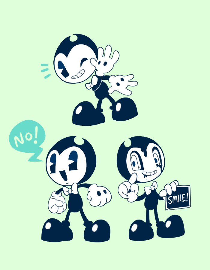 Love these three #BATIM #Bendy_and_the_ink_machine<br>http://pic.twitter.com/3PPWk957D8