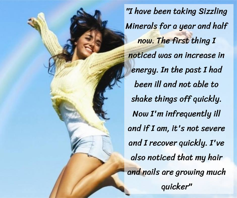 #BrumHour  This testimonial for the unique #SizzlingMinerals comes as no surprise to me, as it is typical of ladies that decided to try them over many years.  Why not discover for yourself?   Go to:  http://www. plantminerals.eu  &nbsp;   and place your order.  PS. I&#39;m 65 and take no meds! <br>http://pic.twitter.com/rUCKOc1GYJ