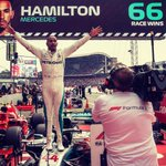 Image for the Tweet beginning: Lewis Hamilton completed one of