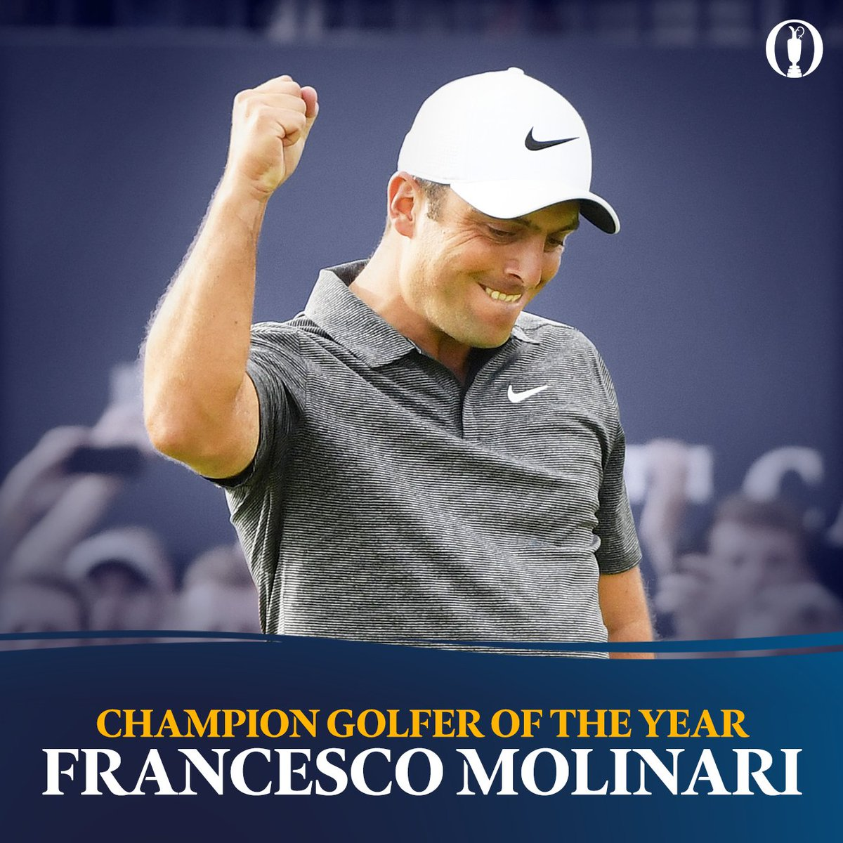 The Open's photo on Francesco Molinari
