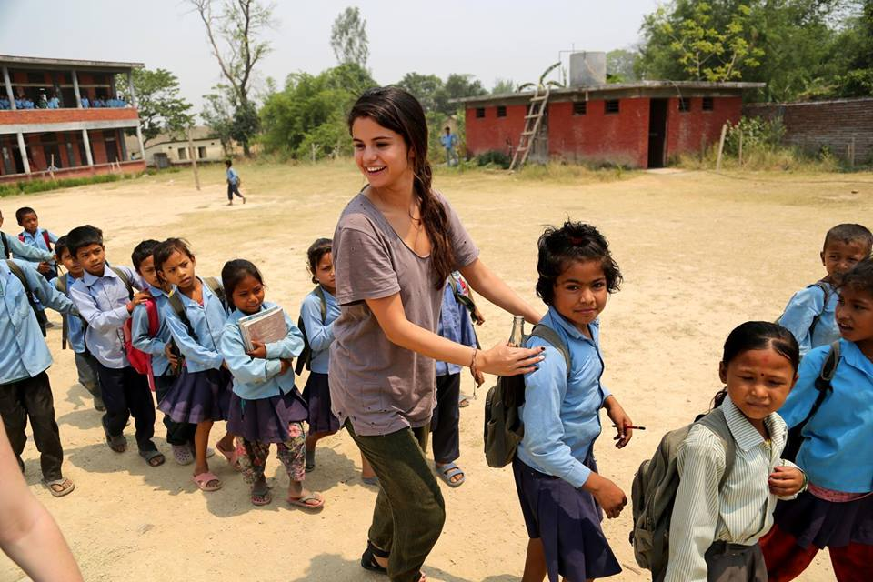 Wishing UNICEF Ambassador @selenagomez a Happy Birthday! 🎉🎉🎉 Thank you for making the world a better place #ForEveryChild!