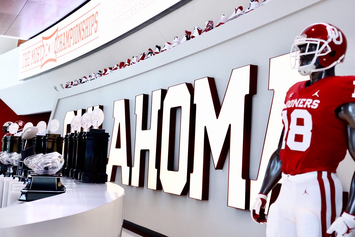 sports shoes 713db a2951 Oklahoma Sooners on Twitter: