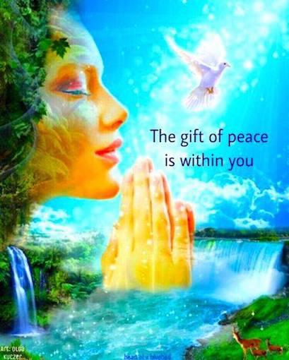 The gift of #Peace is within you! #JoyTrain #Joy #Love #Peace #Kindness #SelfLove RT @Lisandre_Moreaupic.twitter.com/rTomRdPDR0