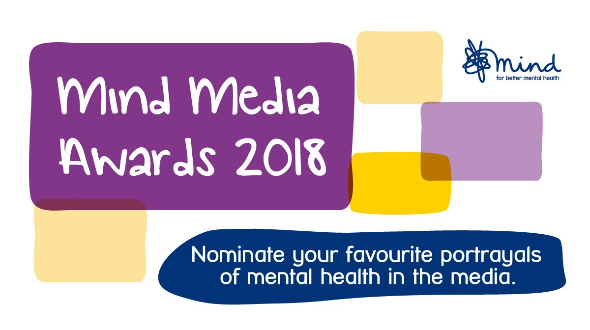 Listened to a podcast that's handled mental health well? Or a soap with a sensitive story line? If you think it should be recognised, why not nominate it for a Mind Media Award. Nominate here > https://t.co/1XgFtjklJ6