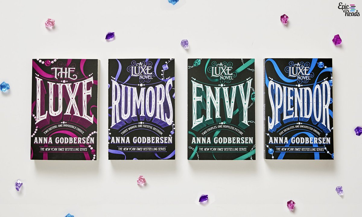We are OBSESSED 😍 with this new look for the Luxe books!! Say goodbye to girls in dresses, and hello to turn of the century style! https://t.co/kxuvsBHToi
