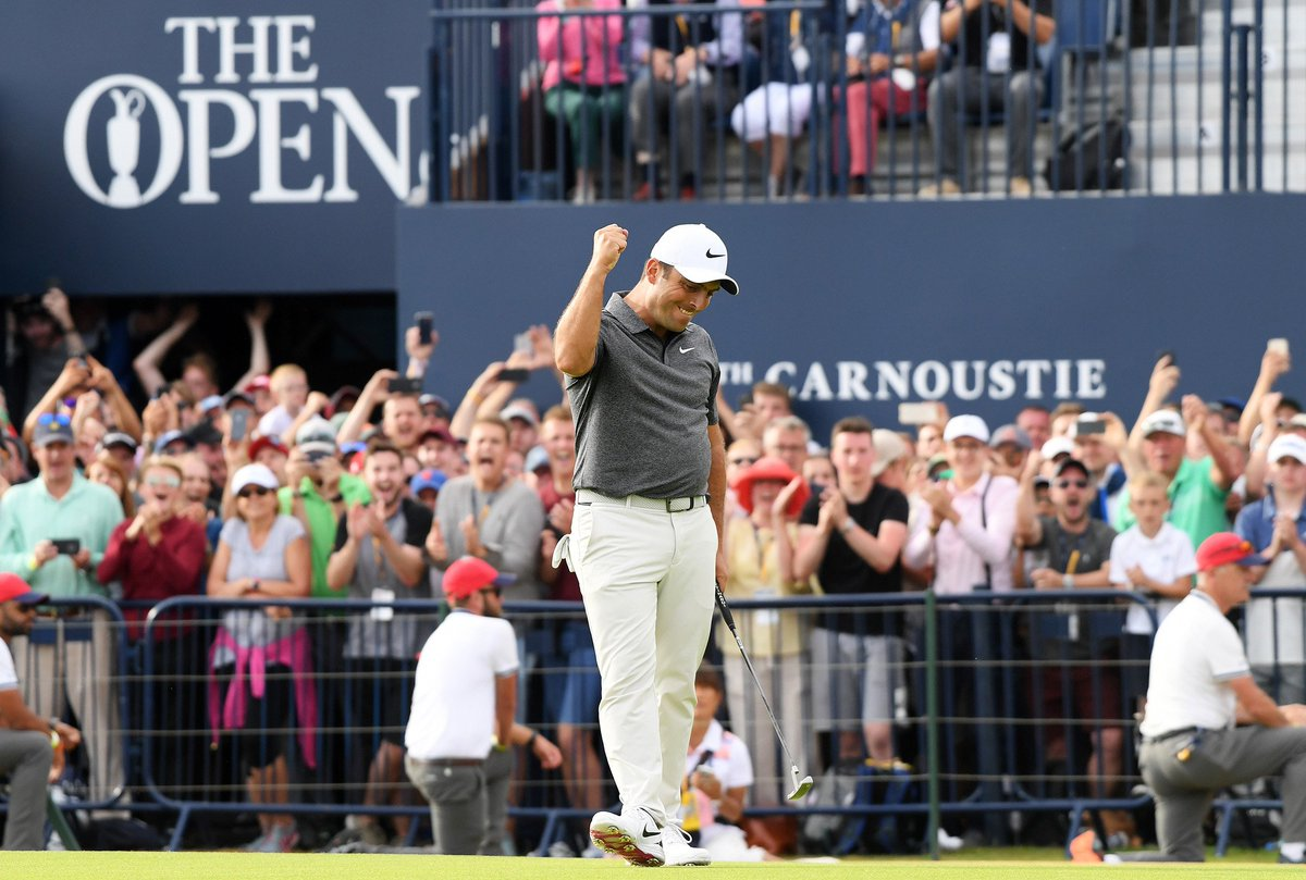 Francesco Molinari wins the British Open, the first major golf championship for an Italian https://t.co/y1FcnJCedV