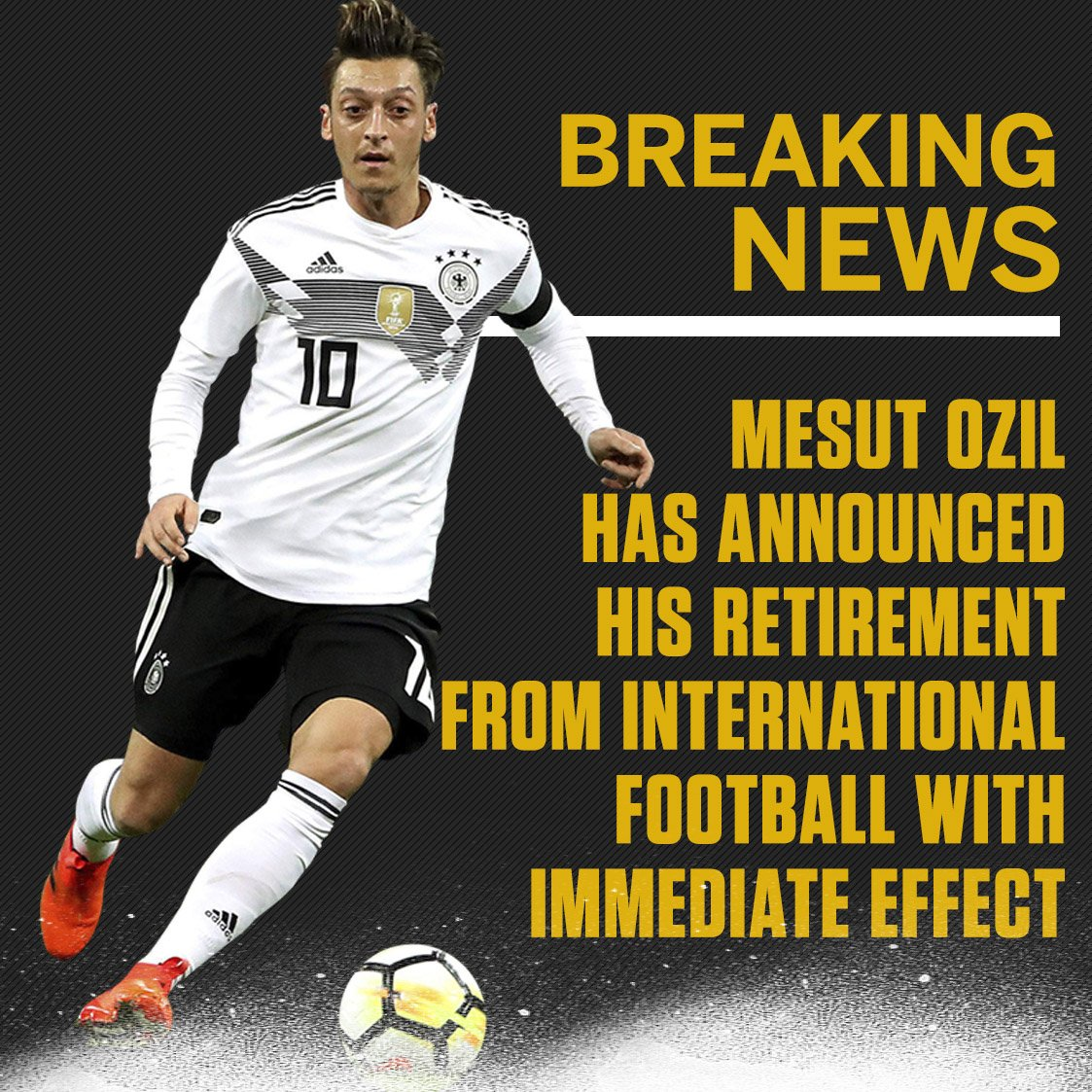 ESPN FC's photo on Mesut Ozil