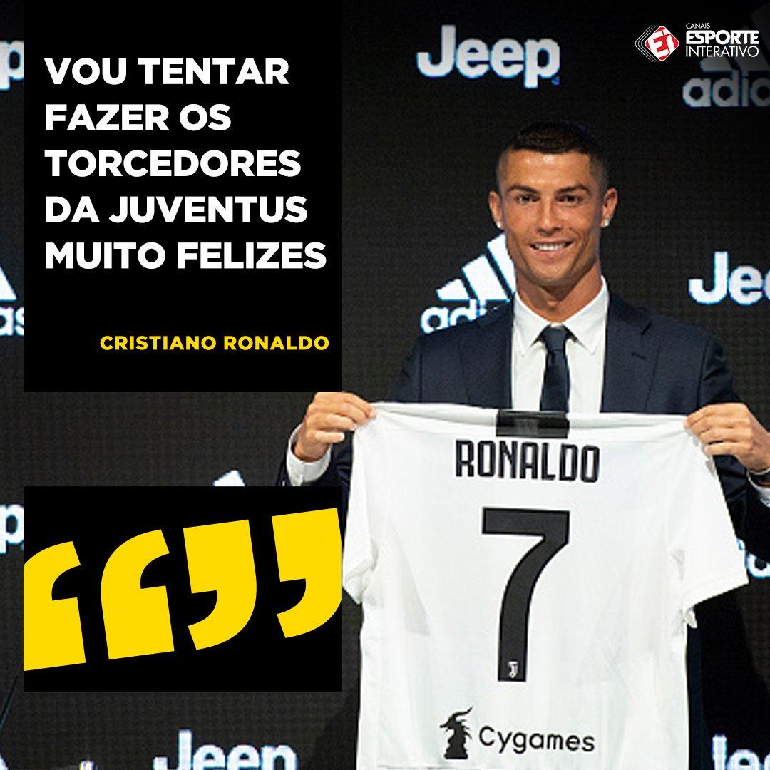 Só a contratação do Cristiano Ronaldo já fez muito torcedor feliz, né?!