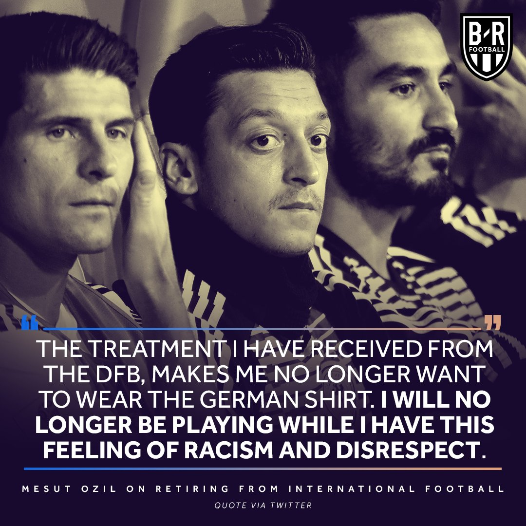 Mesut Ozil is done with international football.