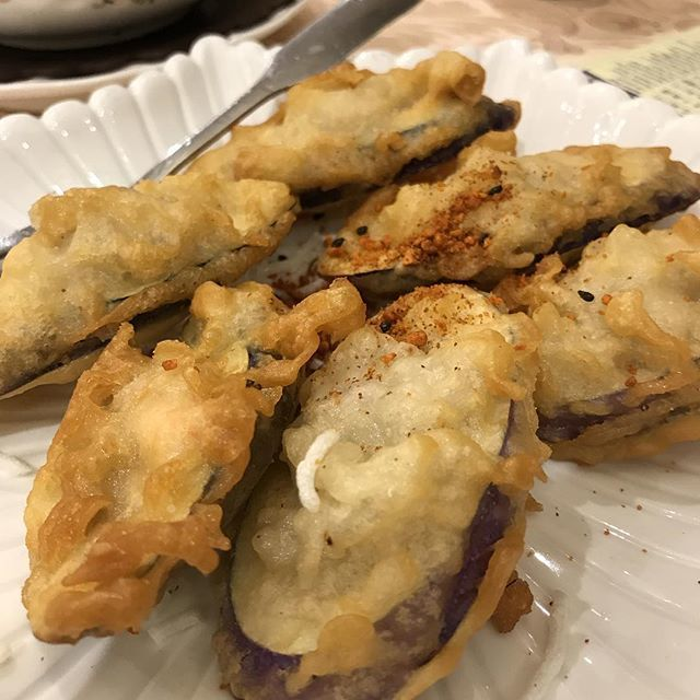 @mtlchronicles: #eggplant with #shrimp paste #dimsum #restaurant #toronto #torontofood #food #foodporn https://t.co/tIjNv4LIy4