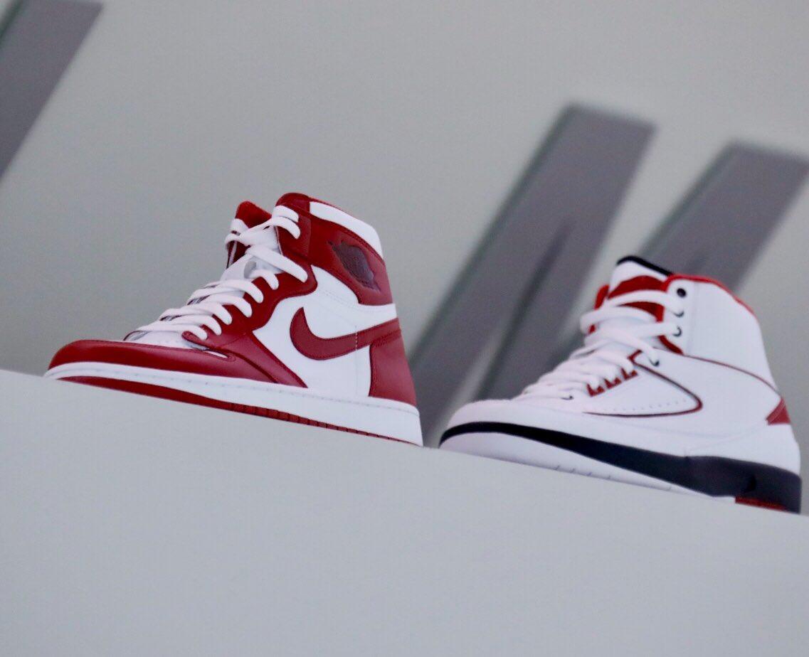 Exclusive Air Jordan 1 & 2 for @OU_Athletics.