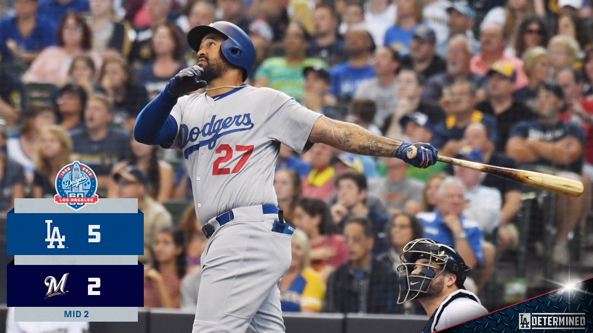 Took control. #Dodgers https://t.co/hTZcgrpKdu