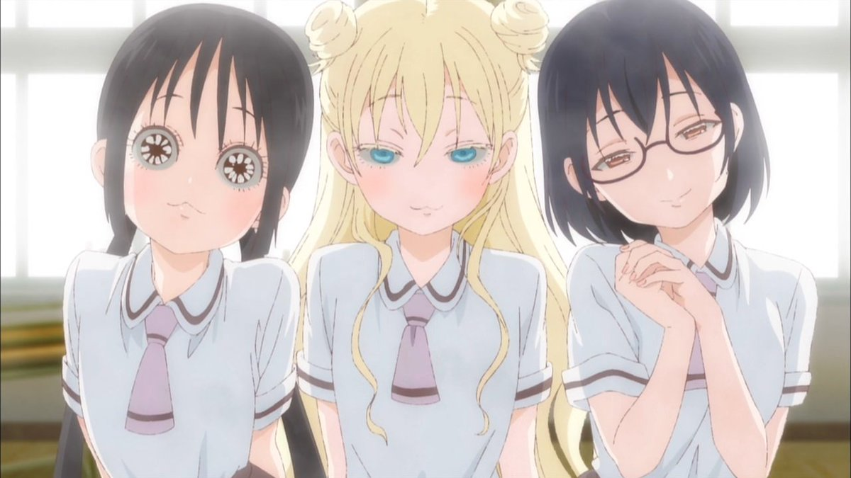 Trinimmortal Might Actually Be A Genius On Twitter Asobi Asobase Is A Great Show