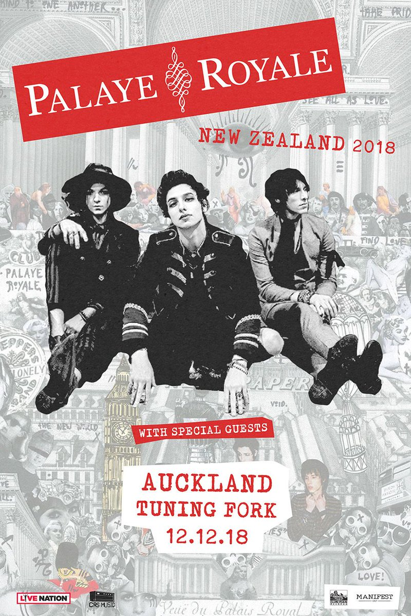 Soldiers of the Royal Council, we are excited to announce we will be coming to New Zealand in December! Tickets go on sale Thursday at 2pm.