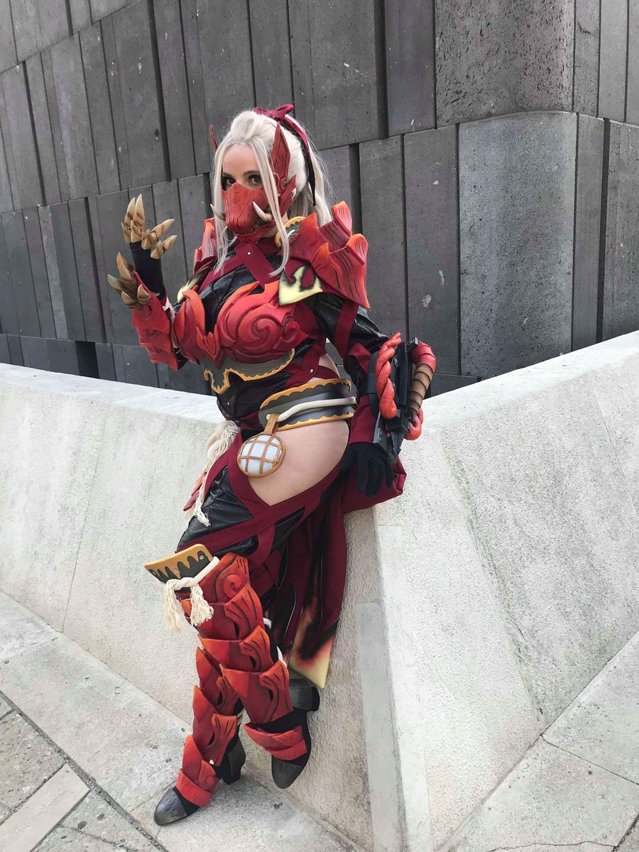 Sayuri Monsterhunter On Twitter Odogaron Alpha Armor Made By Me