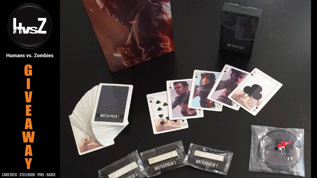 Hey Battlefielders, barbecuing and chilling with @battlefield in fine weather and you want more? It is possible with the #HvsZpack with rare BF1 pins! To win simply RT, follow @BattlefieldEADE and tag a friend.  Good luck to everyone  We pick the winner on August 20th @gamescom <br>http://pic.twitter.com/O9KMoYT0uk