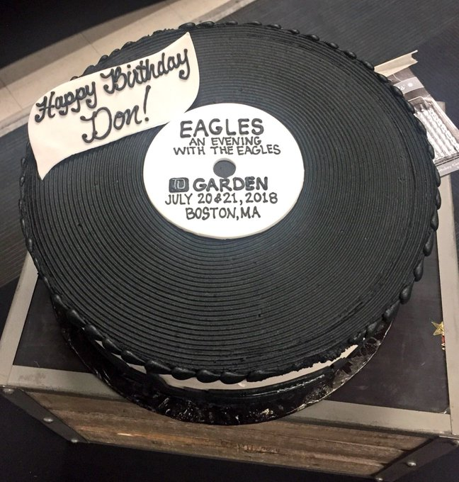 Happy birthday, Don Henley! Thanks for celebrating early with us for  nights