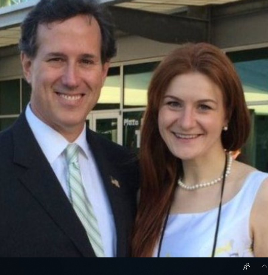 Image result for santorum and butina
