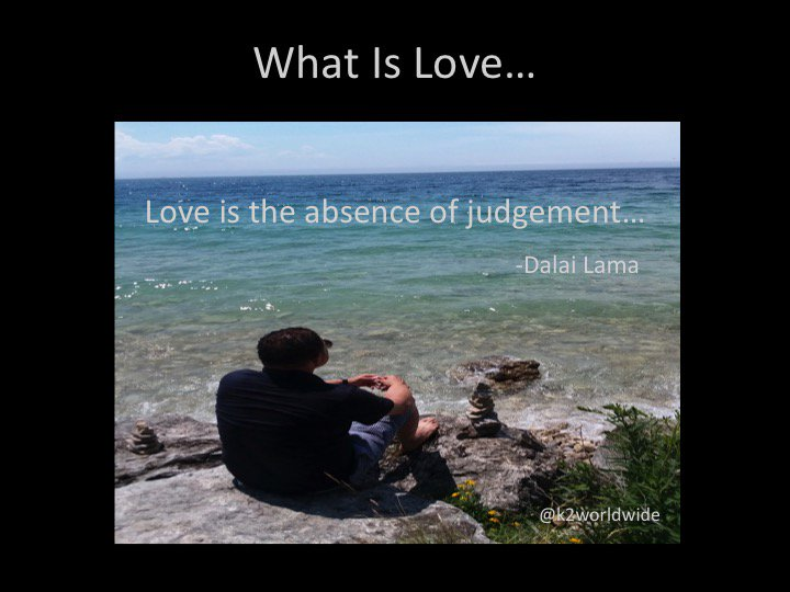 Kevin Kimbrough On Twitter What Is Love Love Is The Absence Of