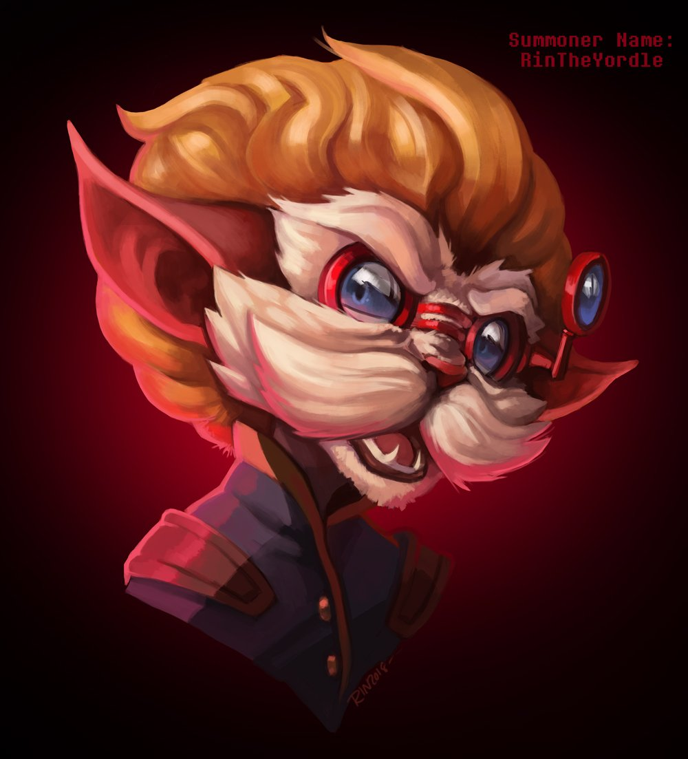 Okay, I swapped gears last second and decided to challenge myself w/ color and a &quot;faceless&quot; character. How often does Heimer get irritated? I wanted to show a reaction to a particular situation that would cause him to finally snap back at the speaker. #ArtOfLegends #MemotionLoL<br>http://pic.twitter.com/YQAiSYR1LO