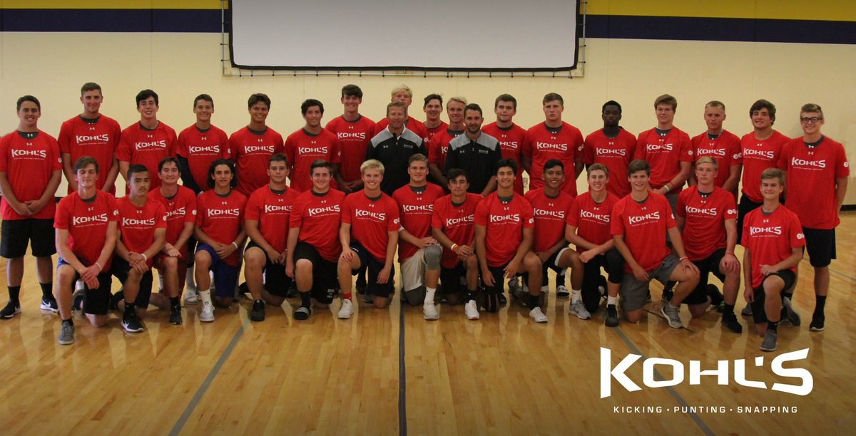 ced0b57cf2 Kohl's Kicking Camps on Twitter: