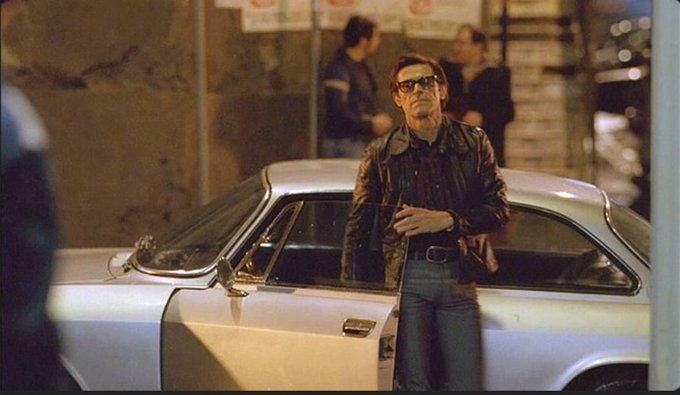 Happy Birthday to Willem Dafoe pictured here in his role as Italian poet/filmmaker Pier Paolo