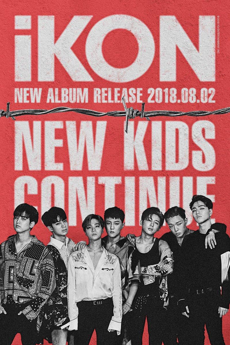 #iKON 'NEW KIDS:CONTINUE' COMEBACK TEASER #2  New Mini Album '#NewKidsContinue' ✅ 2018.08.02   #아이콘 #NewKids #Continue #YG