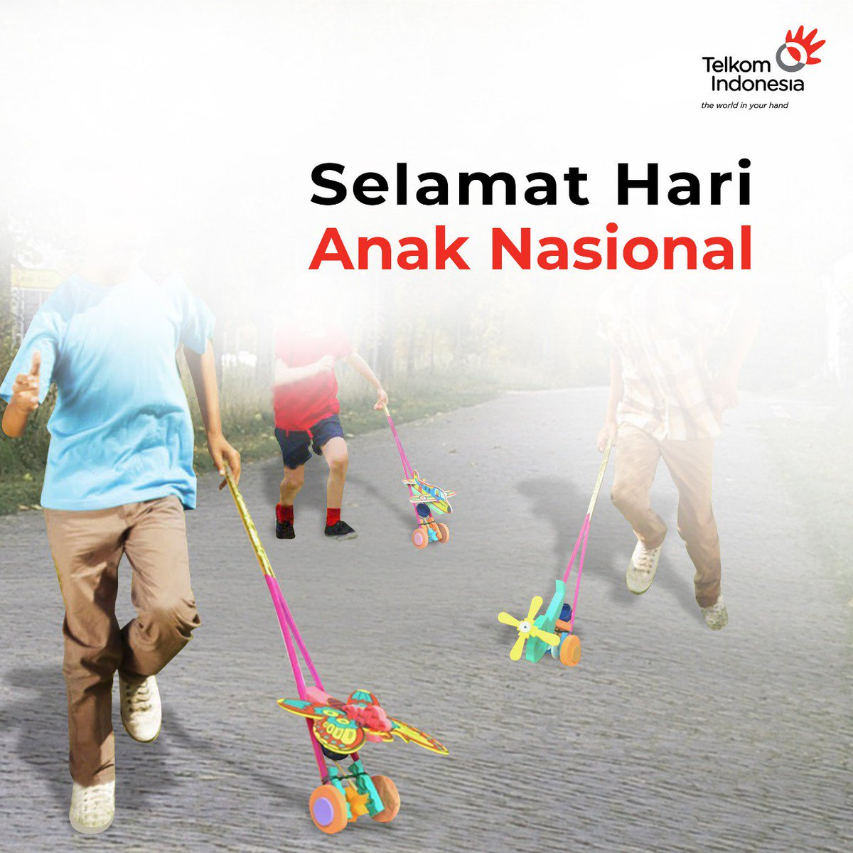 Telkom Indonesia على تويتر Indahnya Masa Kanak Kanak Dinilai Dari Serunya Mereka Berinteraksi Bersama Teman Dan Memainkan Permainan Tradisional Favorit Yang Penuh Dengan Imajinasi Bukan Karena Seberapa Sering Mereka Menghabiskan Waktu Di Dunia
