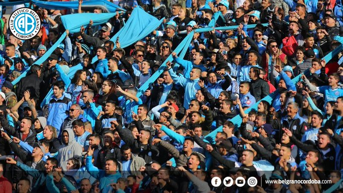 💙 ¡#BuenLunes para todos los que ganaron el #ClásicoCordobés! ¡Vamos #Belgrano! Foto