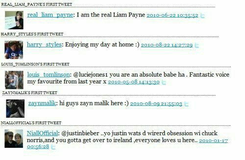 Los primeros tweets de los chicos de 1D en twitter   - I&#39;m crying in a cool way   #8YearsOfOneDirection<br>http://pic.twitter.com/twI6k1yfdA