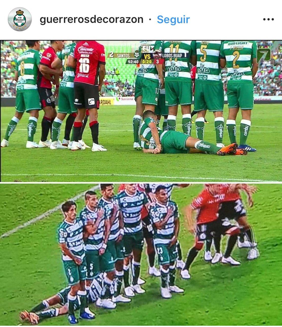 También en el fútbol mexicano hacen el #TranquiloPose Lagunero de Corazón vamos @ClubSantos ������������ https://t.co/yJcrPb3ZIR