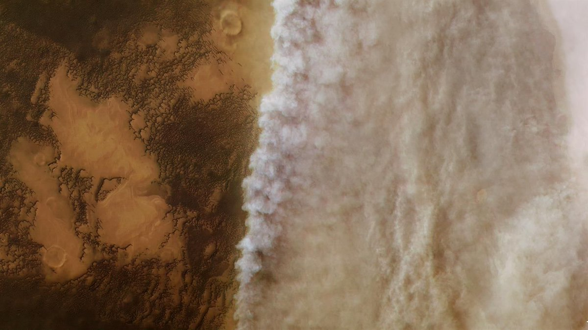 This Stunning Photo Shows the Martian Dust Storm as it was Just Getting Going - Universe Today https://t.co/Vyp25tWSWK @storybywill @universetoday