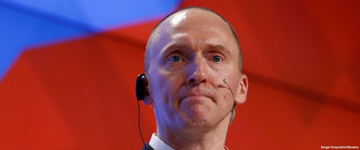 The federal government sought and received permission to surveil former Trump advisor Carter Page before the 2016 presidential election, asserting he had been recruited by the Russian government, newly-released FBI documents show https://t.co/1nXLFvi1Wl