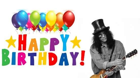 My guitar hero!! Happy birthday !!