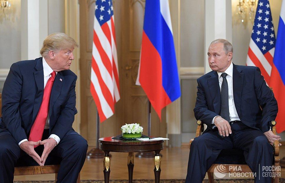 Трамп назвал выдумкой обвинения о 'вмешательстве' России в выборы  https://t.co/rjN0mzeo01