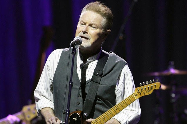 Happy 71st birthday to the man with the biggest musical influence on my life:  Don Henley...