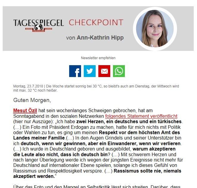 Guten Morgen! Der #Checkpoint am Montag von @ak_hipp ist da! https://t.co/SO7dBFTha5