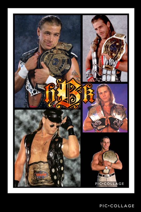 Happy birthday to the hbk Shawn Michaels