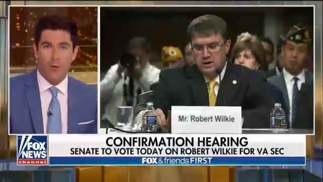 Senate to Vote Today on Robert Wilkie for VA Secretary https://t.co/MVG3UJ6QZk