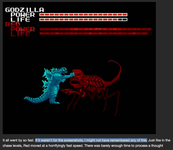 Tom Aznable On Twitter So Ultimately The Nes Godzilla